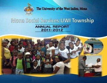 ANNUAL REPORT 2011-2012 - Uwi.edu