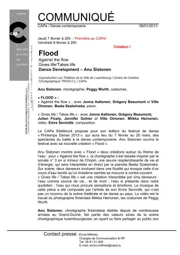 Flood - Le Trois C-L