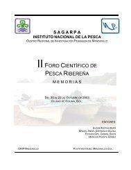 Reunión nacional sobre cultivo de peces marinos - Inapesca