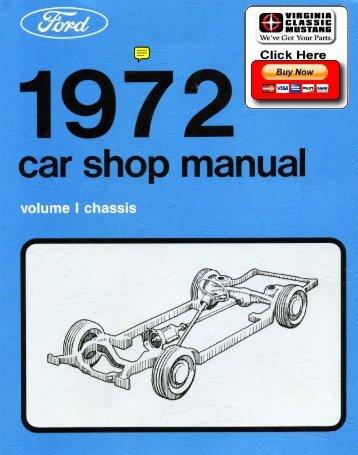 DEMO - 1972 Ford Car Shop Manual (Vol I-V) - ForelPublishing.com