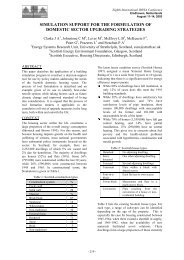 simulation support for the formulation of domestic sector ... - ibpsa