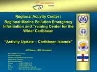 Activity Update – Caribbean Islands - U.S. National Response Team ...
