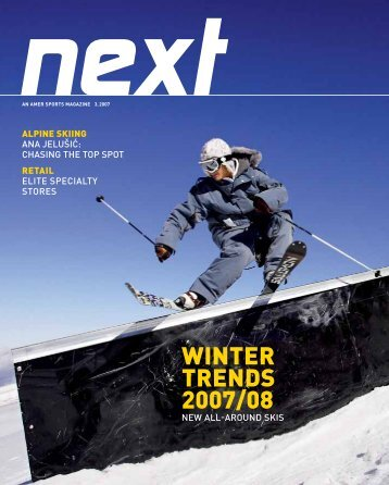 WINTER TRENDS 2007/08 - Amer Sports