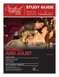 ROMEO AND JULIET - Stratford Festival
