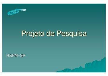 Projeto de Pesquisa - Associação Brasileira de Reciclagem e ...