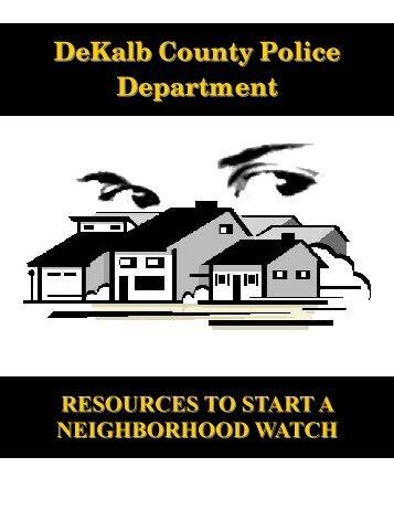 Starting a Neighborhood Watch