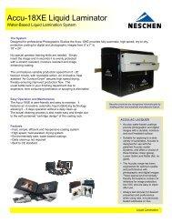 Accu-18XE Liquid Laminator - APS Imaging Solutions