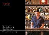 Perth Bars & Restaurants - Scoop Magazine