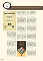 Istituto Nazionale Espresso Italiano - Centro Studi Assaggiatori