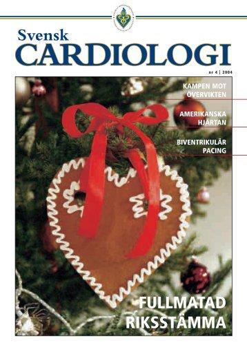 Läs hela numret - Svenska Cardiologföreningen