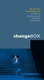 I: Was bitte heisst Change Management? - change[box].info