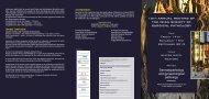 2013 Programme - ISSP