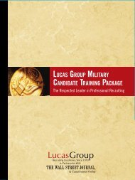 information package - Lucas Group
