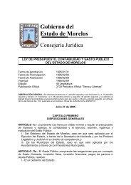 Ley de Presupuesto, Contabilidad y Gasto Público - Gobierno del ...