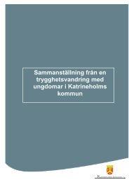 Trygghetsvandring - Katrineholms kommun