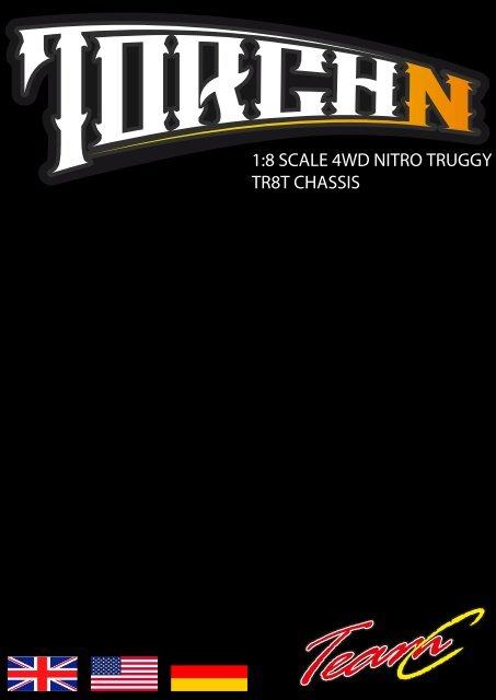 1:8 SCALE 4WD NITRO TRUGGY TR8T CHASSIS - Absima