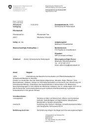 Pflichtenheft Mitarbeiter Infomobil, Zivildienst - Schweizerischer ...