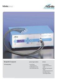 Produktinformation bluepoint 2 easycure - Dr. Hönle AG