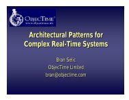 Architectural Patterns for Real-Time Systems - ResearchGate