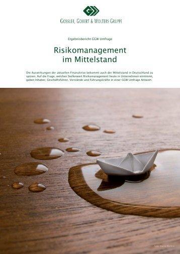 Risikomanagement im Mittelstand 2008 im Mittelstand
