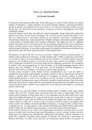 VISITA AL «FRONTESPIZIO» di Giovanni Petronilli La situazione ...