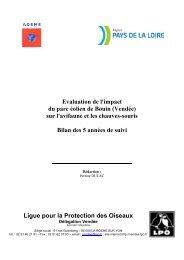 Evaluation de l'impact du parc éolien de Bouin ... - Wind Watch