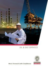 OIL & GAS SERVICES - Bureau Veritas