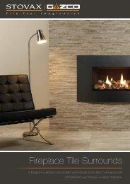 Fireplace Tile Surrounds Brochure - Brochures - Stovax