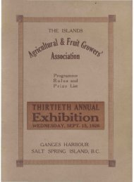 The Islands Agricultural & Fruit Growers' Association 1926