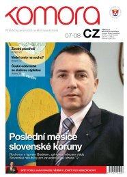 Poslední měsíce slovenské koruny - Hospodářská komora České ...