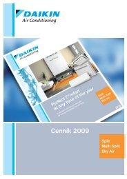 DAIKIN Split cenník 2009.pdf