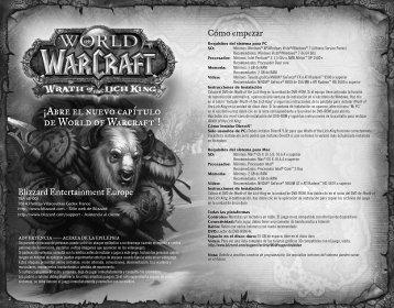¡Abre el nuevo capítulo de World of Warcraft®! - Blizzard ...