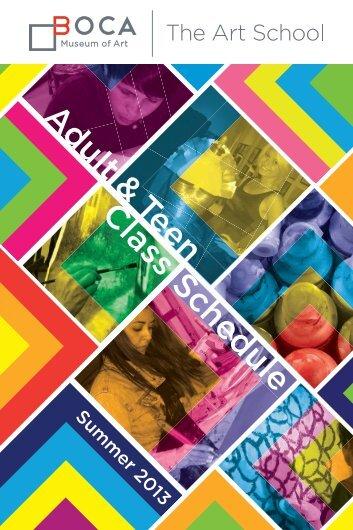 2013 Summer Catalog - Boca Raton Museum of Art