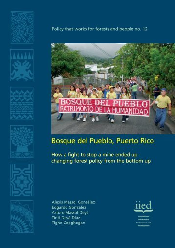 PTW Puerto Rico English text - IIED pubs - International Institute for ...