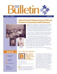 Child Life Council Celebrates Passion, Pride and the Power of ...