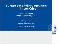 Foliensatz Prof. Landmann: «Europäische ... - Iconomix