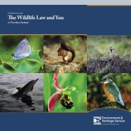 The wildlife law and you in Northern Ireland - Police Service of ...