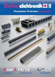 Connecteurs - f.con - Fischer Elektronik GmbH & Co. KG