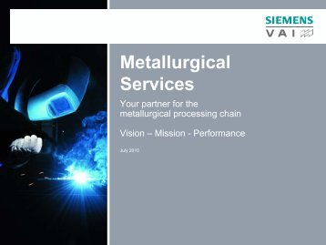 Metallurgical Services - Industry