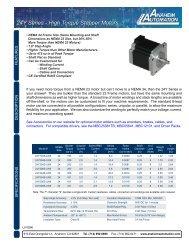 Anaheim Automation 34Y006S-LW8 Single Shaft NEMA 34 Stepper Motor 34Y006S-LW8 Stepper Motor