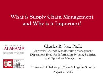 What is Supply Chain Management and Why is it Important?