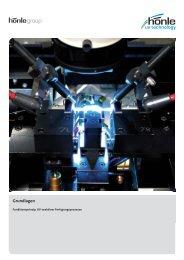 Grundlagen - Funktionsprinzip UV-reaktiver ... - Dr. Hönle AG