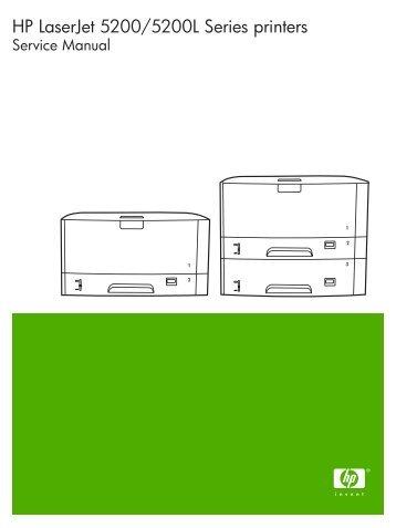 service manual hp laserjet 5200 pdf quality printers rh yumpu com HP Laser Printer Drivers HP Printer Photosmart D7345