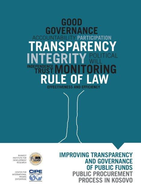 Public Procurement Policy Paper FINAL pdf - Center for