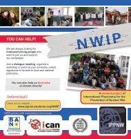 NWIP Flyer - IPPNW