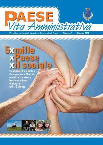 5xmille xPaese xil sociale - Comune di Paese