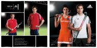 HOCKEY 2009 | 2010 adidas.com Specialist Sports Shoes Ltd. Unit ...