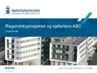 Sjøsikkerhetskonferansen 2012 Linda Bruås.pdf - Sjøfartsdirektoratet