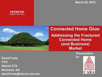 Hitachi Presentation (March 22, 2012)