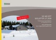 Miljökonsekvensbeskrivning - Skellefteå kommun
